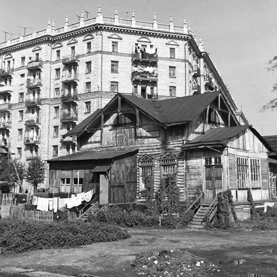 ZAVODFOTO History of Russian cities in photos: Moscow in the 1950s