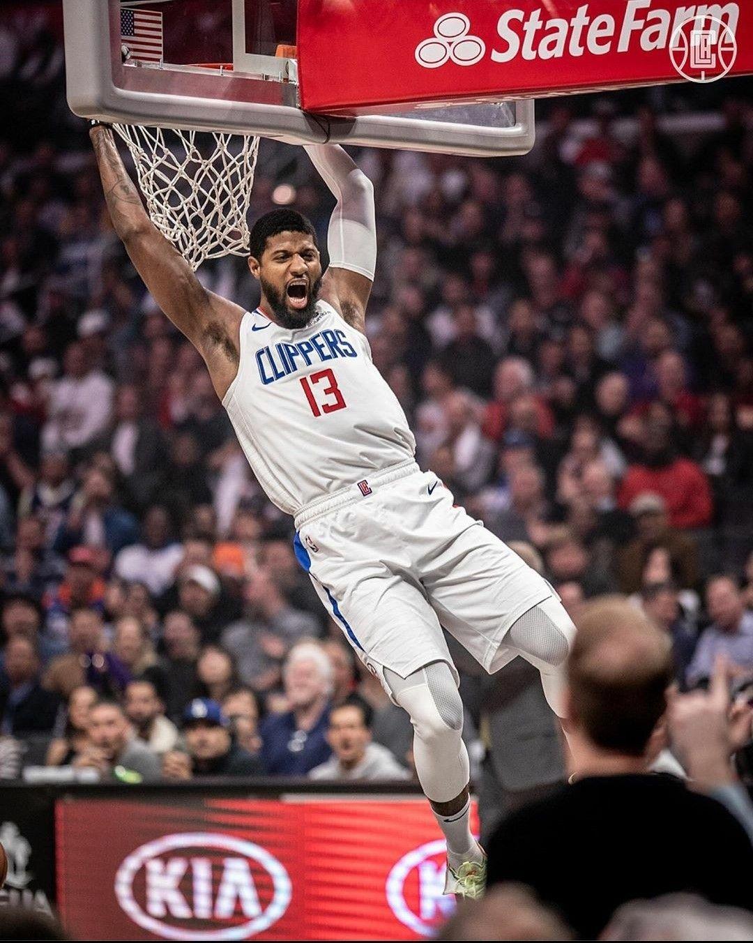 La Clippers In 2020 Basketball Highlights Paul George Nba Nba Fashion