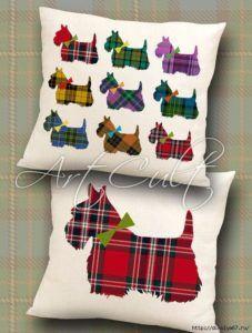 Almohadas decoradas con tela y encajes | Manualidades