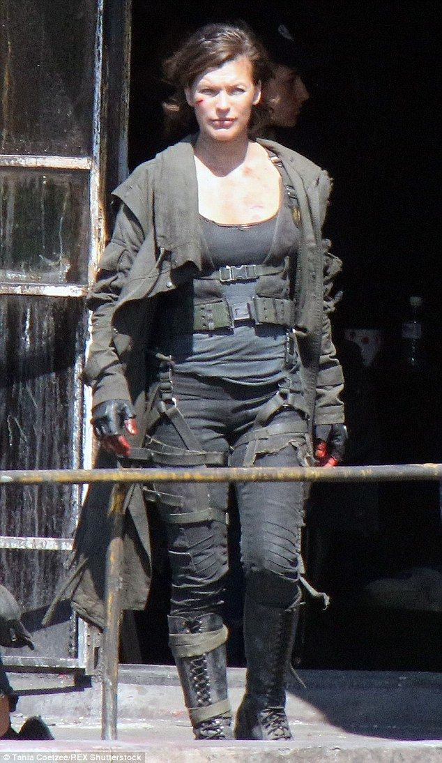 Milla Jovovich Is Truly Unrecognisable Resident Evil Resident