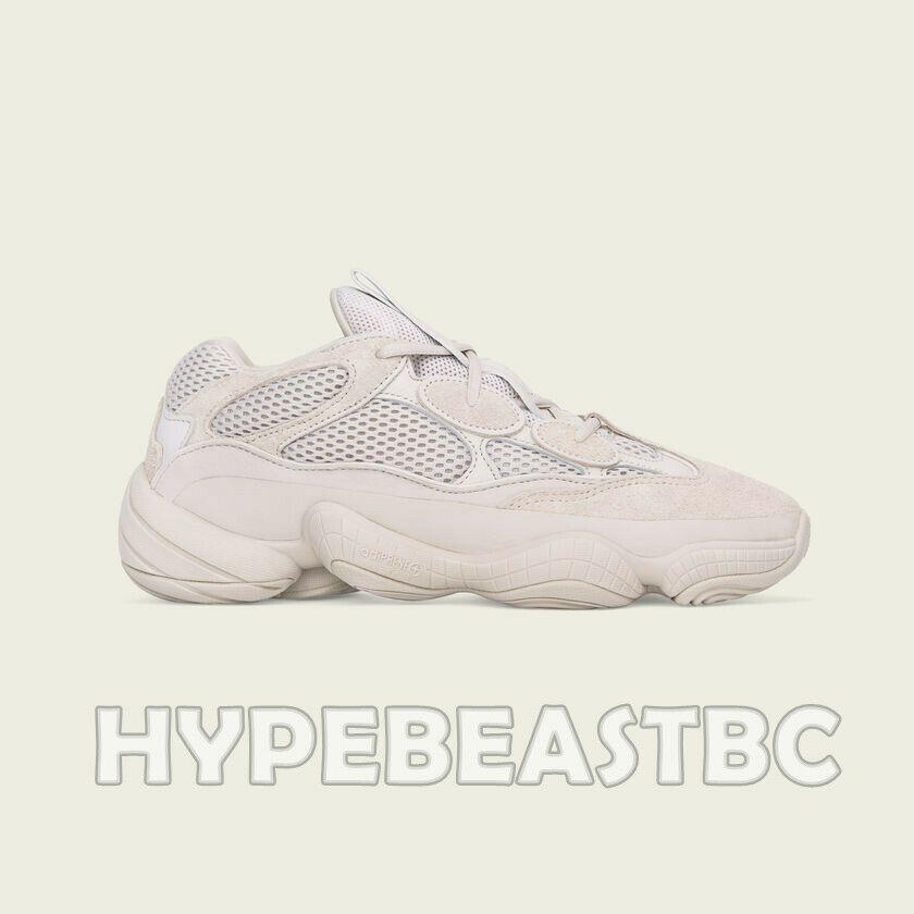780c664ee1342 (eBay Sponsored) YEEZY 500 Blush Adidas KANYE WEST Desert Rat Sneakers  Shoes Beige Size