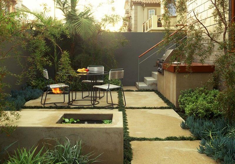 Aménagement petit jardin dans lu0027arrière-couru2013idées modernes Dream
