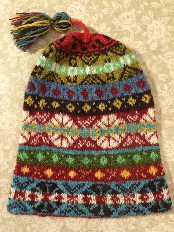 Traditonal Fairisle Hat Kep by YoEweMakes on Etsy | Fair Isles ...