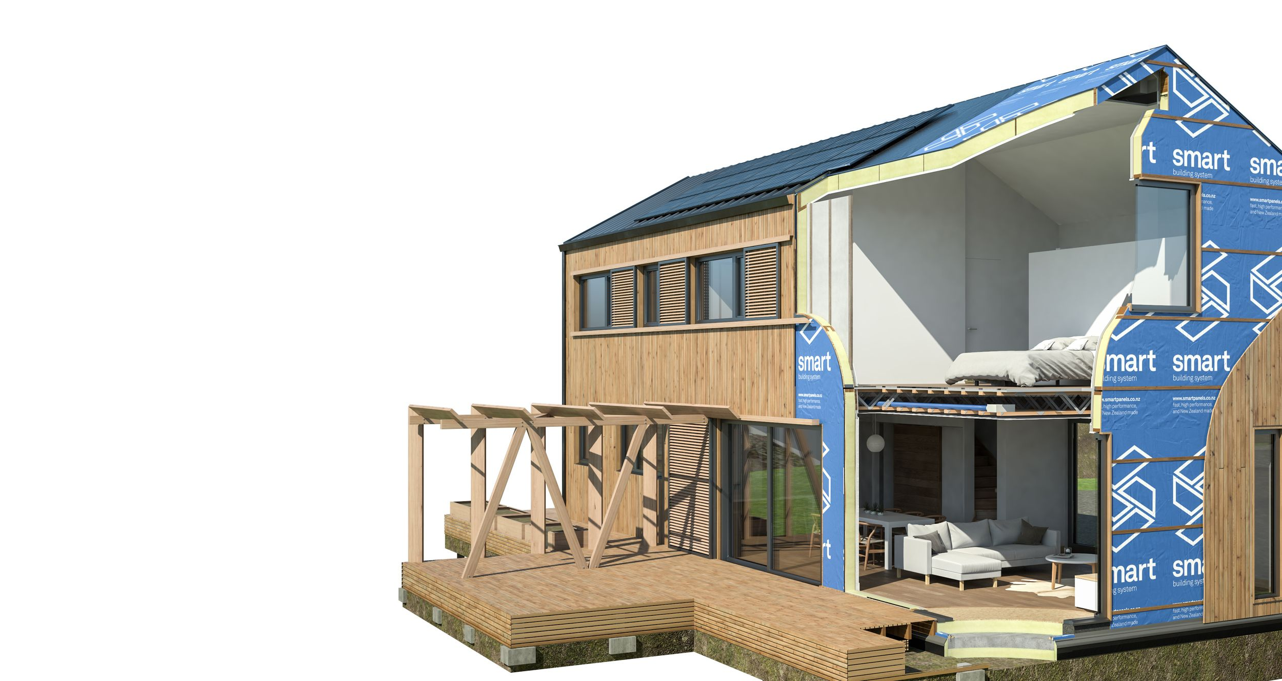 Www Nzsip Co Nz Cutaway3 White Cropped Jpg House Viewing Building Systems Energy Efficient Homes