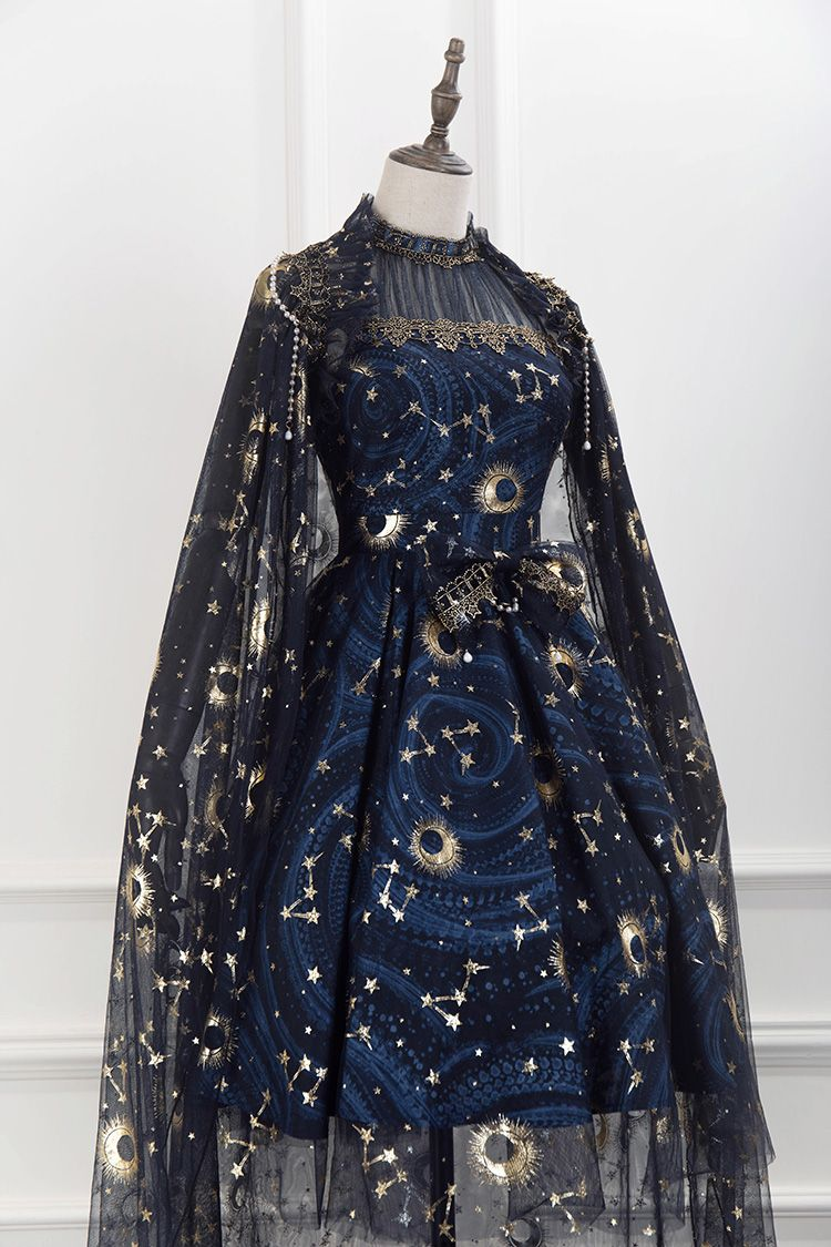 Lost Angel -The Starry Night- Lolita Cape (Gauze V