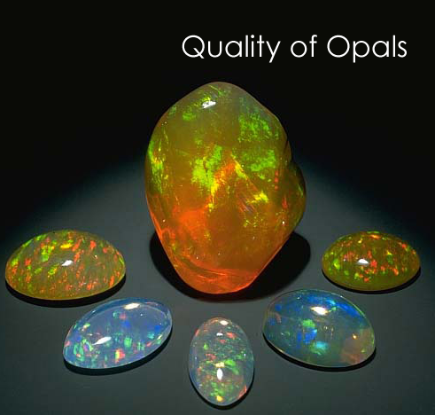 Opals‬ are very diverse and can widely vary in quality and appearance. Let us throw light on the various factors which make the national gem of Australia what it is - http://goo.gl/9cvhOi