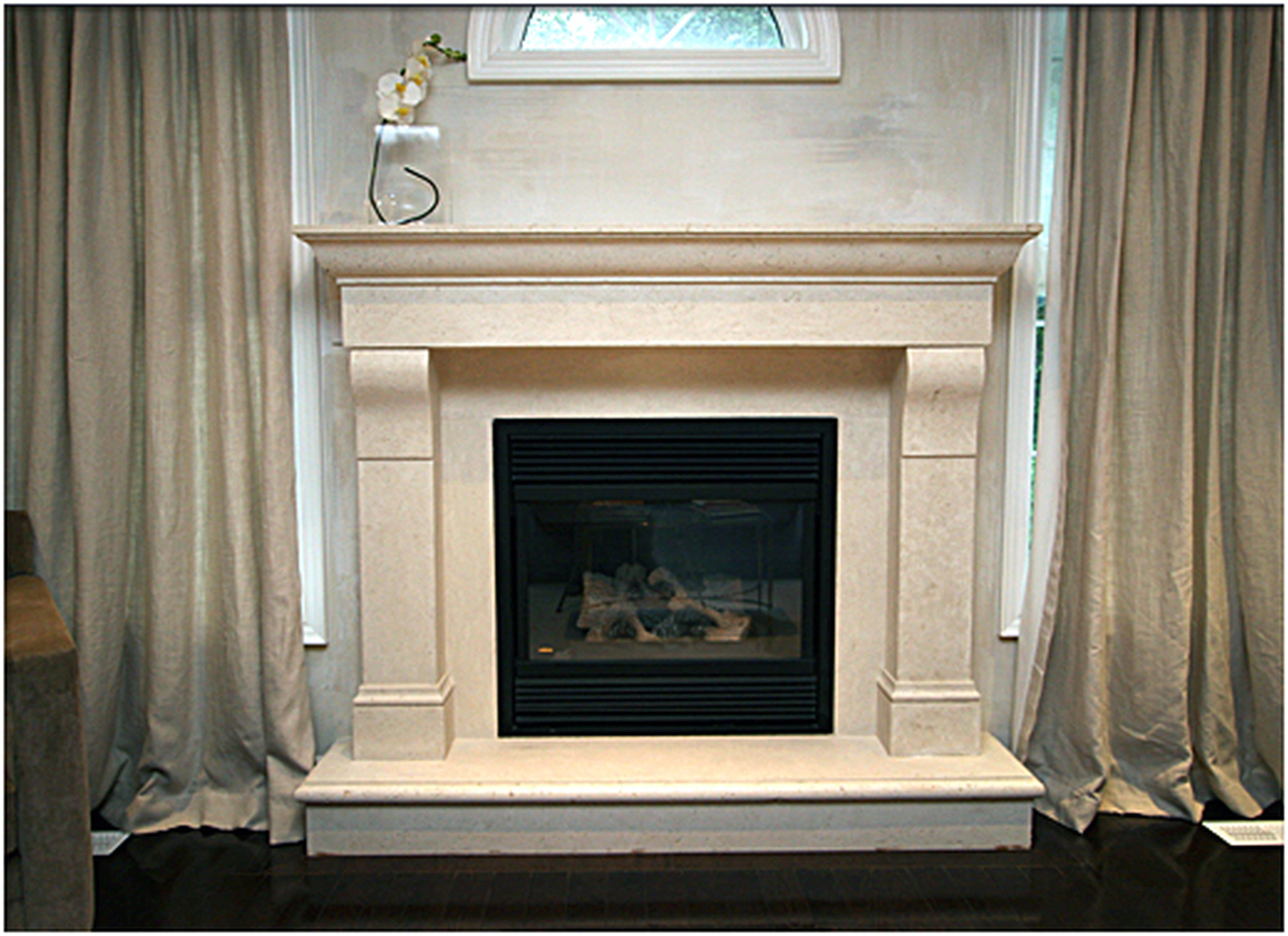 Unusual Stone Fireplace Decorating Ideas Proposition Entrancing