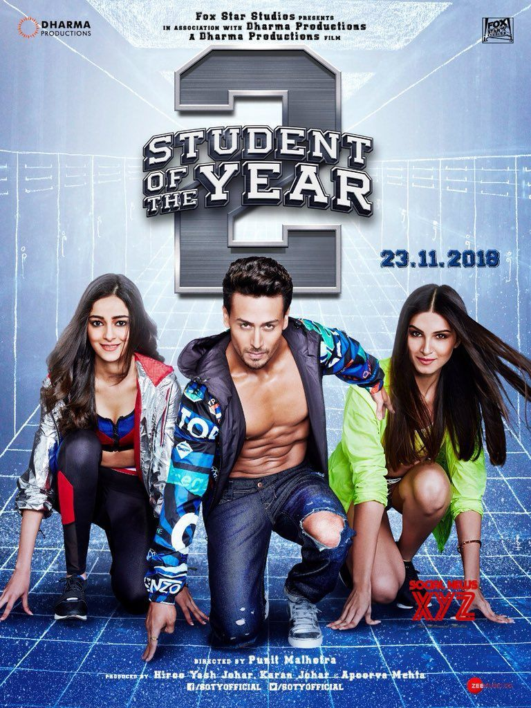 Student Of The Year 2 Movie Posters Social News XYZ