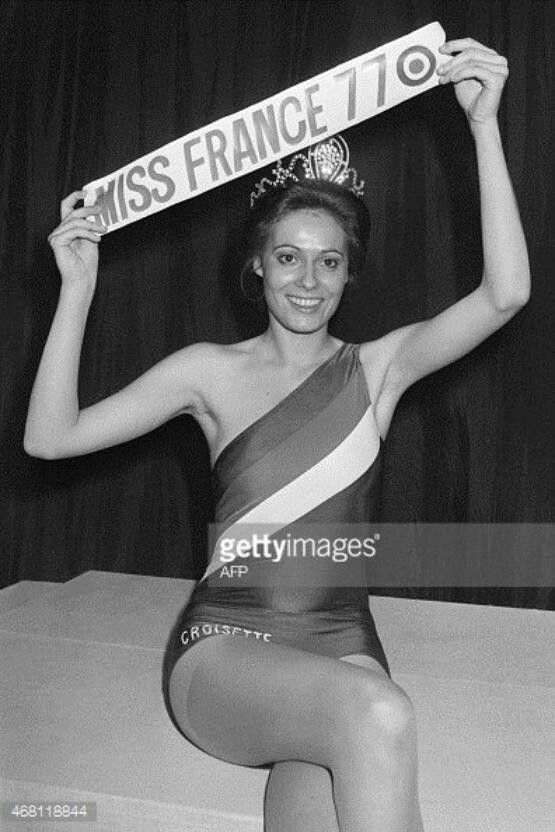 Miss France 1977 ... http