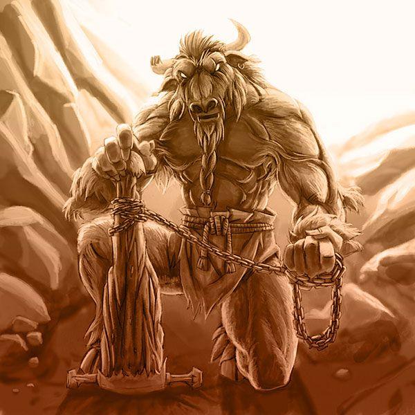 Mythical Creatures Minotaur