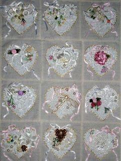 Raviolee Dreams: Mini Crazy Quilt Hearts