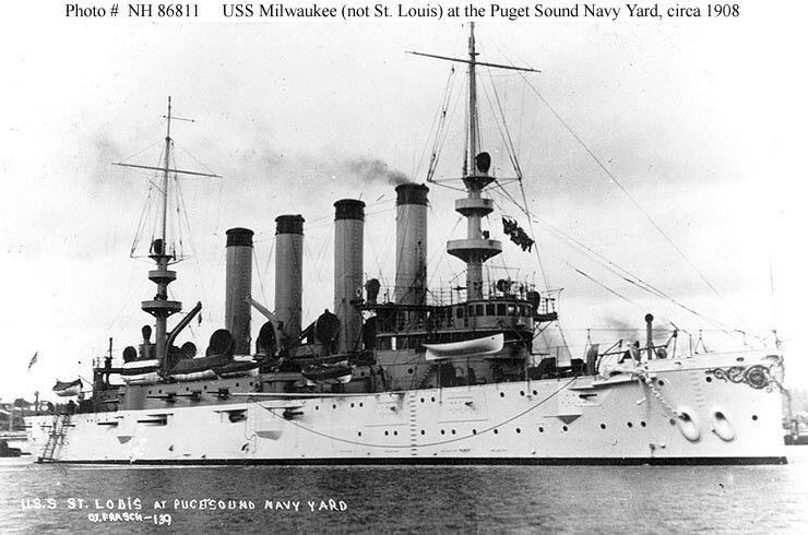 USS Saint Louis Warship, United states navy, Naval