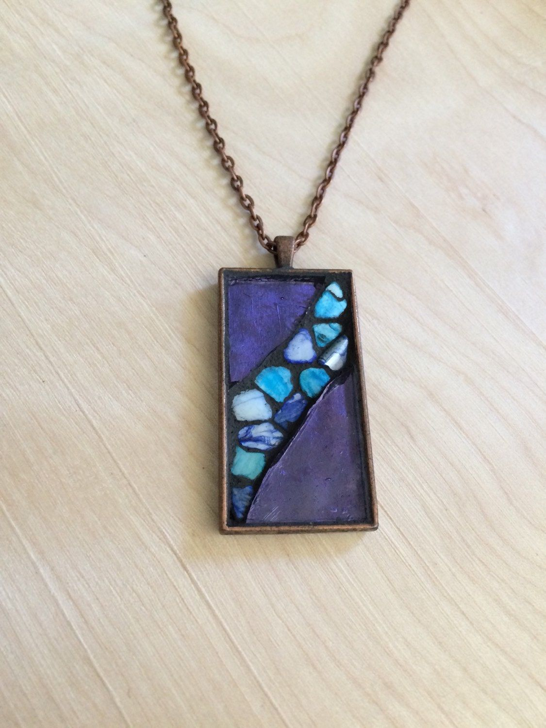 to create using make pendants pendant a spray stones how polish nail colorful floral stained jewelry glass paint projects faux and tile on