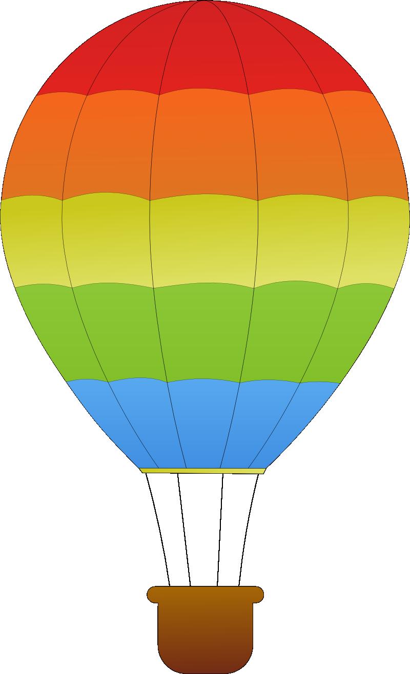 horizontal striped hot air balloons SVG - ClipArt Best - ClipArt ...