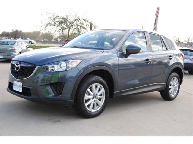 2013 Mazda Cx5 Sport SPORT SUV 4 Doors Gray for sale in Houston