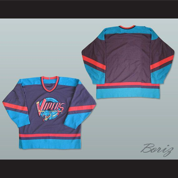 DETROIT Vipers  Hockey Jersey NEW Any Size Any Player or Number
