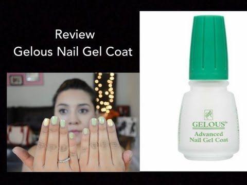 Review Gelous Nail Gel Coat Youtube Gel Nails Gel Nails