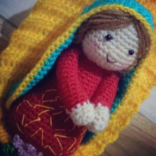 Virgencita! | Tejidos | Pinterest | Weihnachten