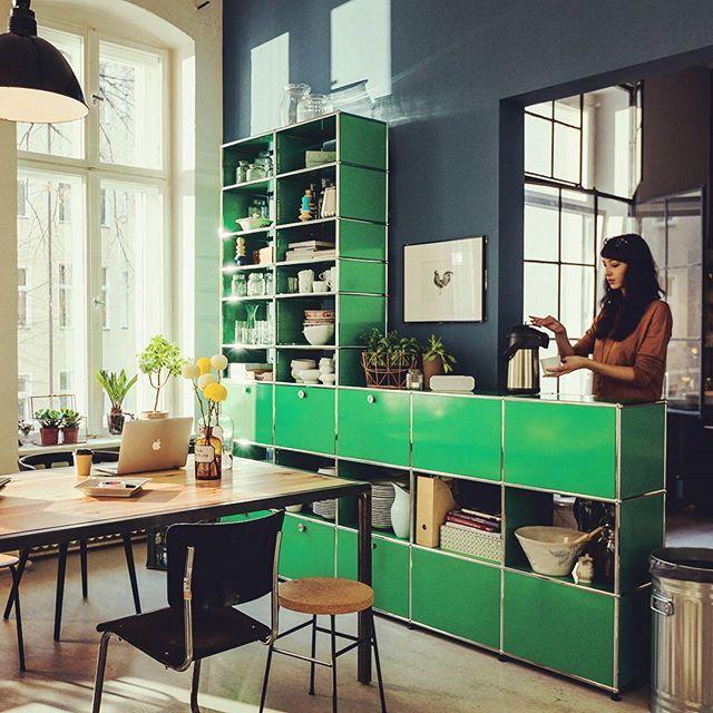 Moderne modulare büromöbel  Pin von Ivy Wong auf roadshow | Pinterest | Usm, Usm haller und ...
