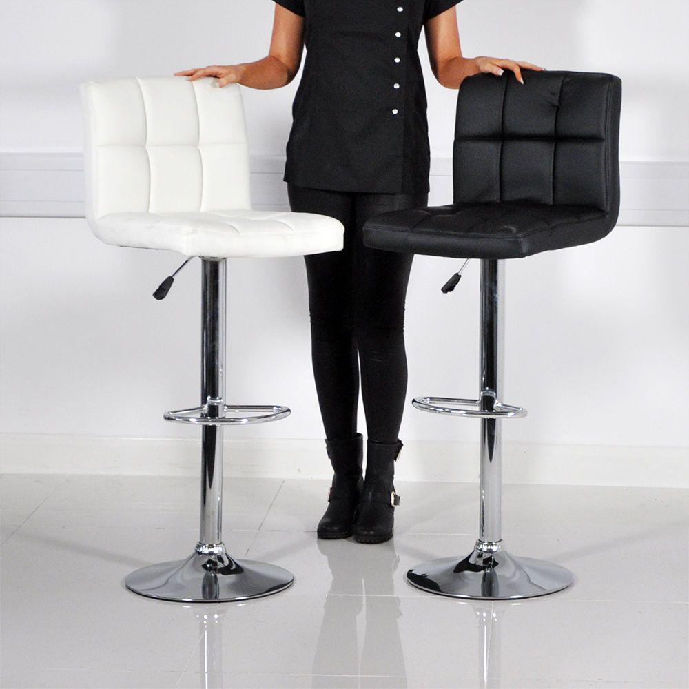 Remarkable Faux Leather Bar Stool Breakfast Swivel Bar Stools Barstools Ibusinesslaw Wood Chair Design Ideas Ibusinesslaworg