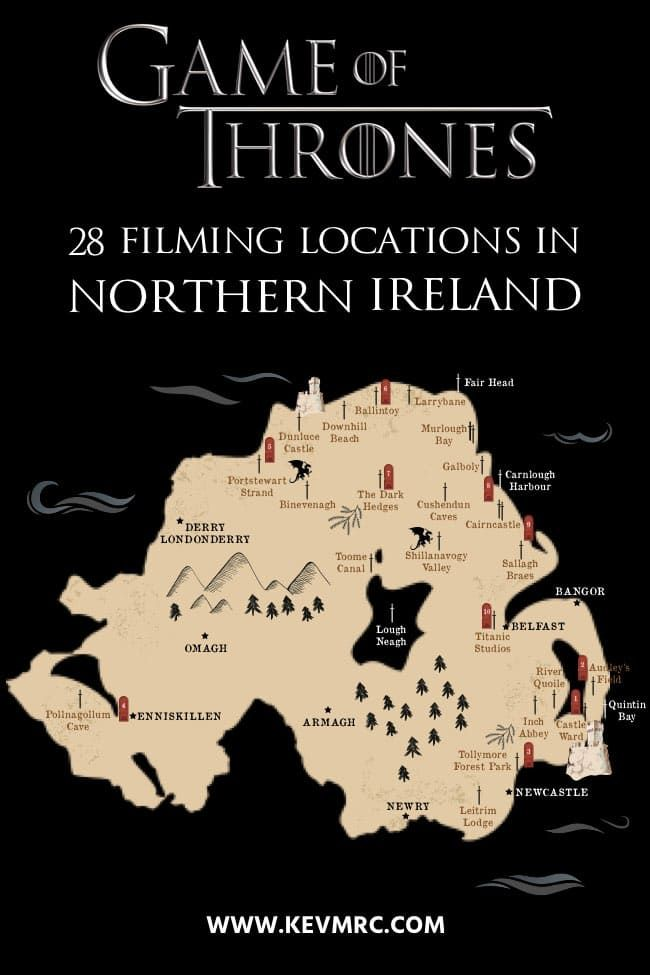 Discover 28 Game of Thrones Filming Locations in Northern Ireland