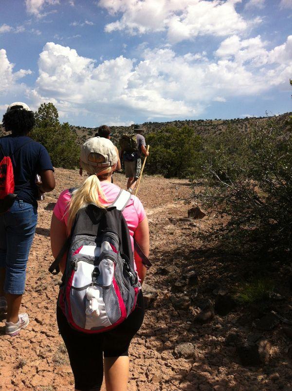 Hiking Pedernal Mountain