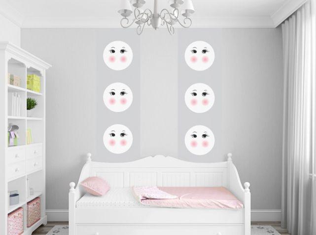Chambre d\'enfant gris et rose poudré   Chambres d\'enfants   Kids ...