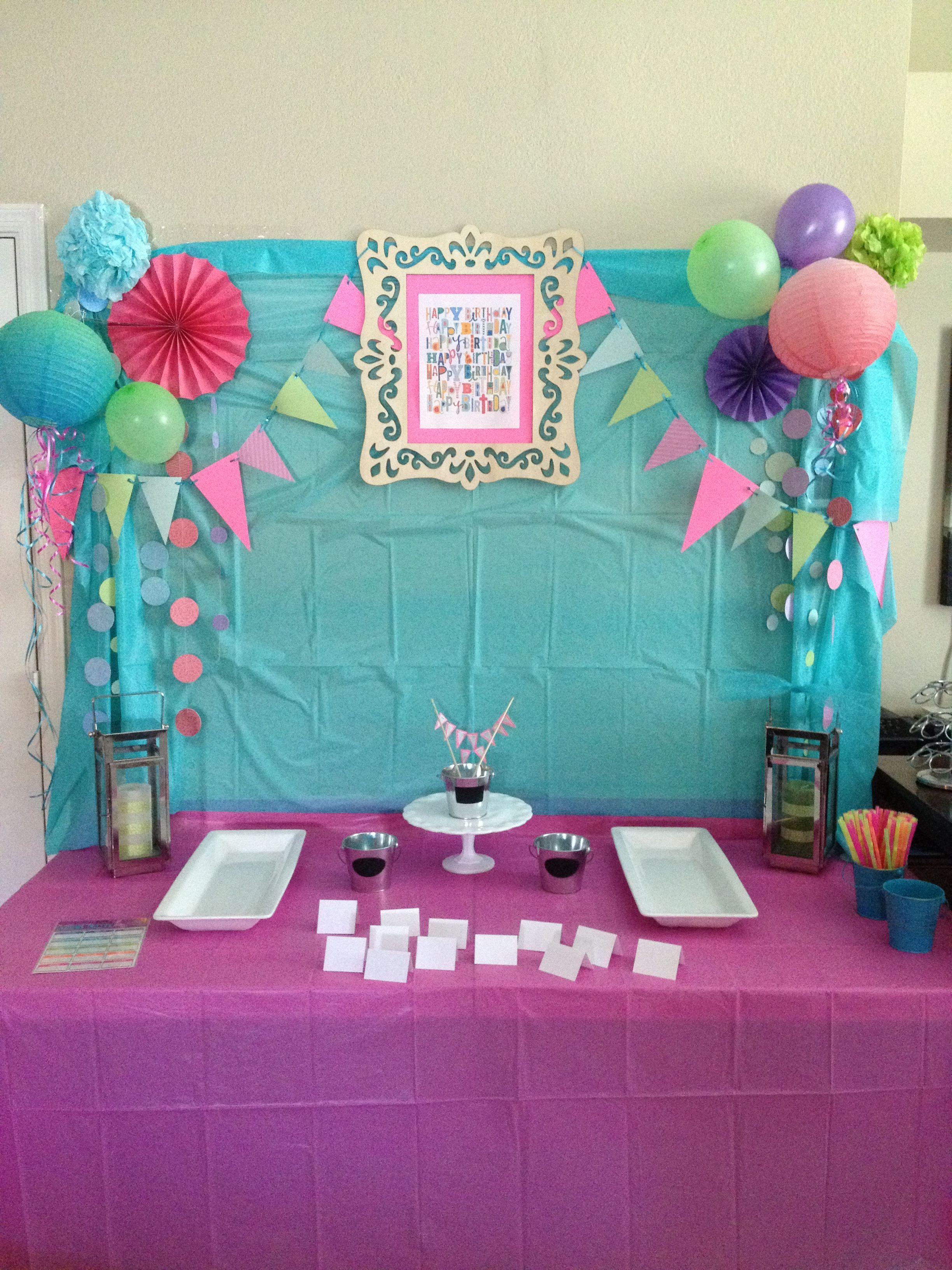 10th Birthday Party Background 10th Birthday Parties Birthday Party Background 10th Birthday