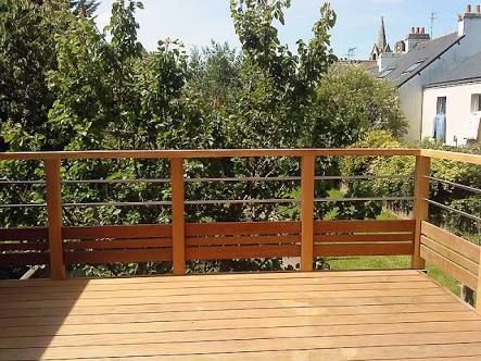 Image result for garde corps patio Terrasse Pinterest Court