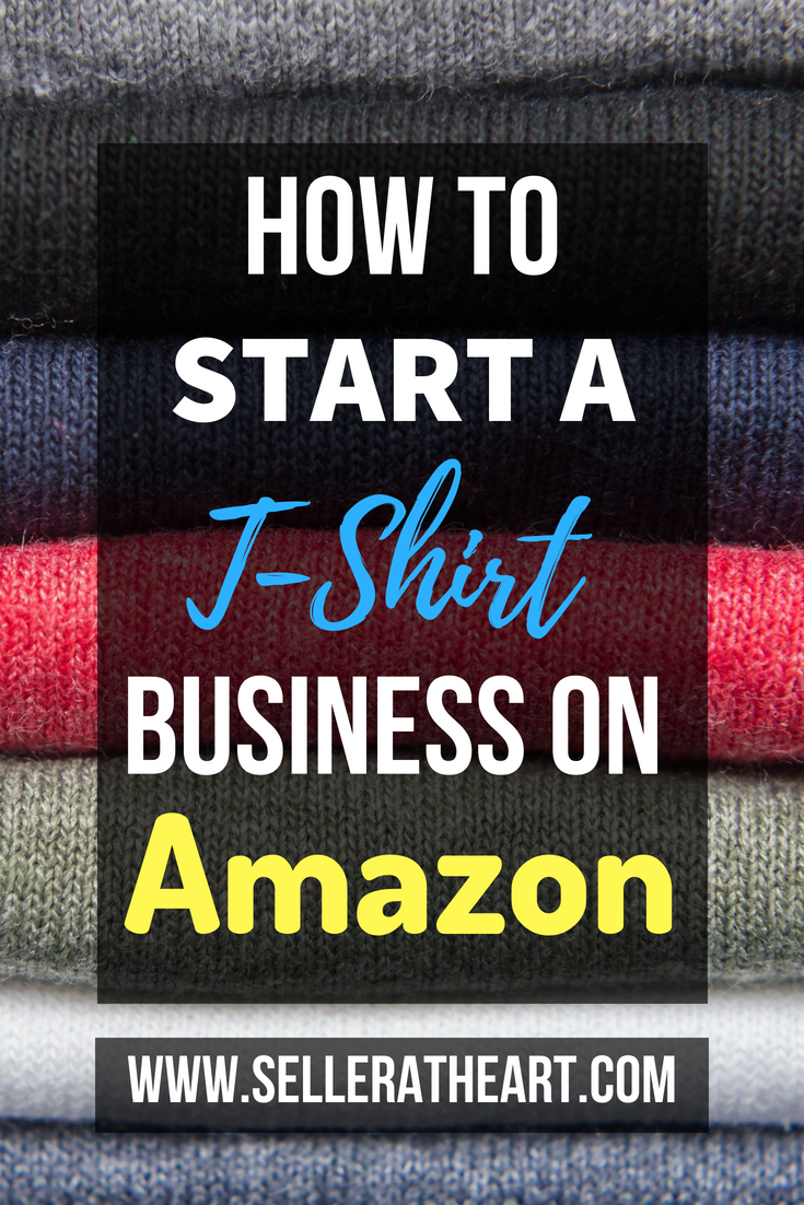 How to Start a T-Shirt Business on Amazon - Merch