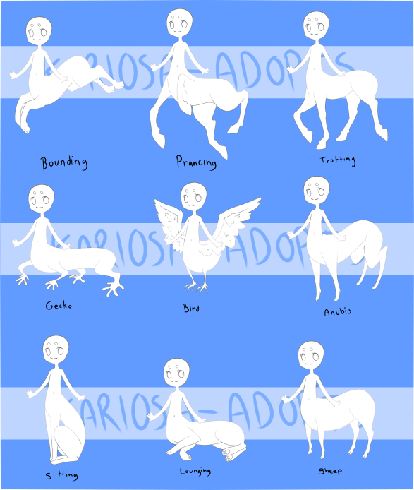 Different centaurs! | references | Drawings, Art reference, Art