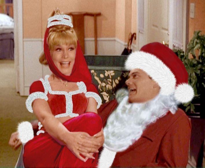 Image result for barbara eden Christmas image