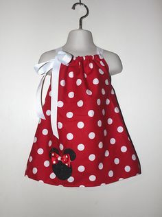 Disney Baby Girl Swimsuit 3-6M 6-9M 12-18M White Red One Piece Dots Minnie Bow