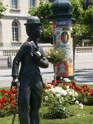 Paul Franke: From t / p / Europe 7 - Vevey (Switzerland) - the last home of Chaplin!