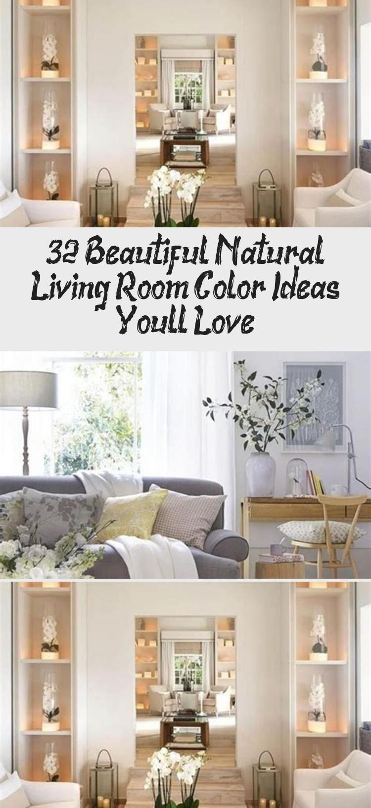 32 Beautiful Natural Living Room Color Ideas You Will Love 15 #RusticModernHouseInterior #ModernHouseInteriorColour #ModernHouseInteriorDIY #ModernHouseInteriorWalls #ModernHouseInteriorGreen
