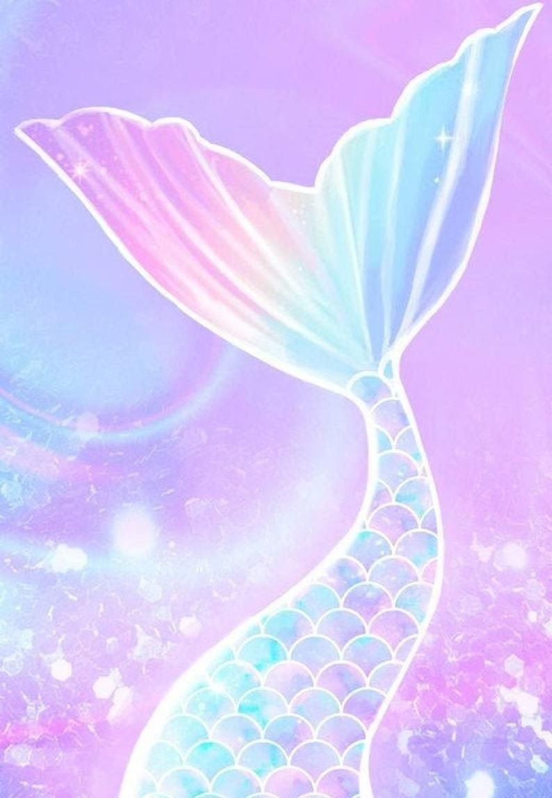 28+ Colorful Mermaid Tail Cross Stitch Pattern Instant Download PDF