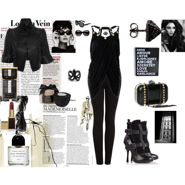 In Black, created by lenorelane.polyvore.com