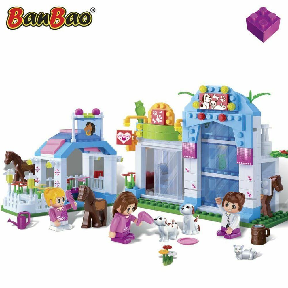 Animaux En Plastique Jouet banbao animalerie plastique jeu de lego animal jouets pour