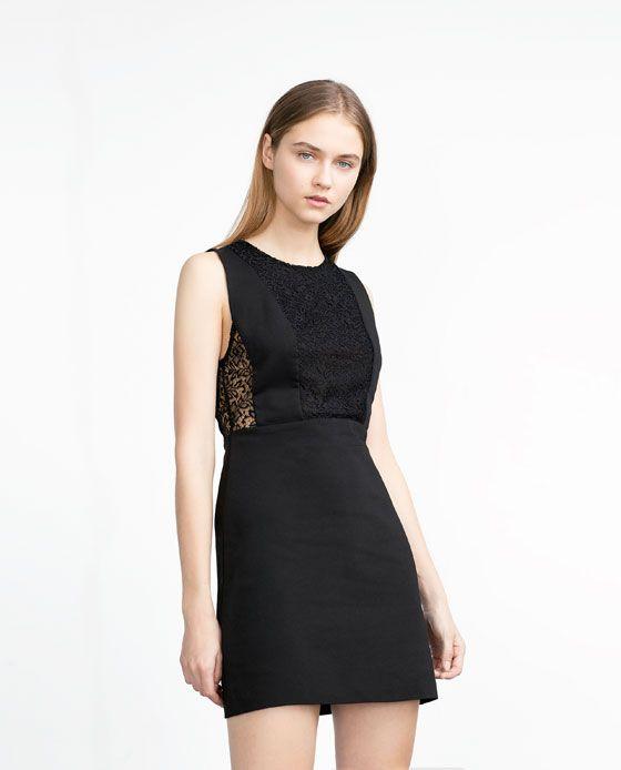 LACE DRESS - View all - Dresses - WOMAN | Kleider für ...