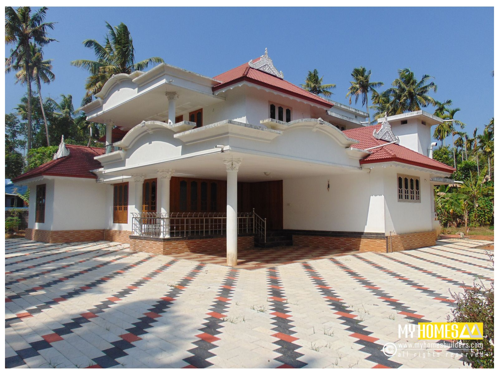 Traditional style kerala homes designs kerala traditional home designs from my homes designers and builders