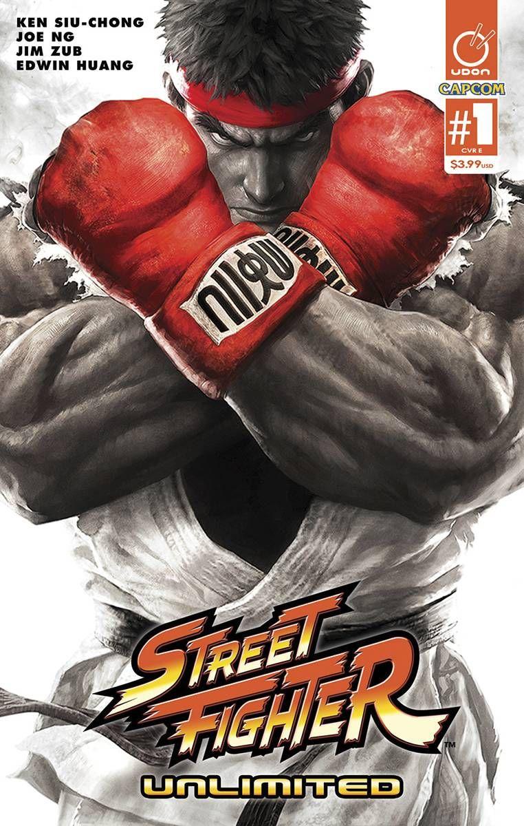 Street Fighter Unlimited 1 CVR E Street fighter, Super