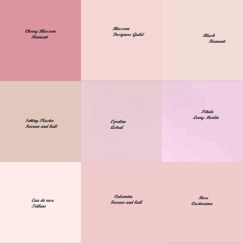 Nuances de rose demoiselle d 39 honneur pinterest de - Differente couleur de gris ...