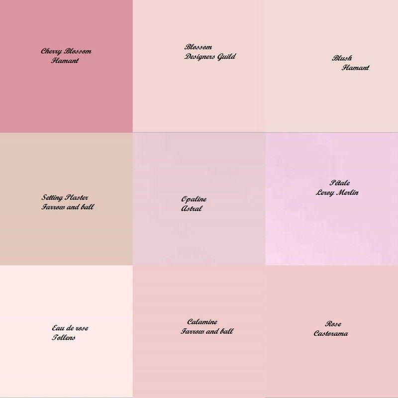 quelques couleurs - voir la vie en rose! | Peinture rose, Rose poudre et Déco mariage rose poudré
