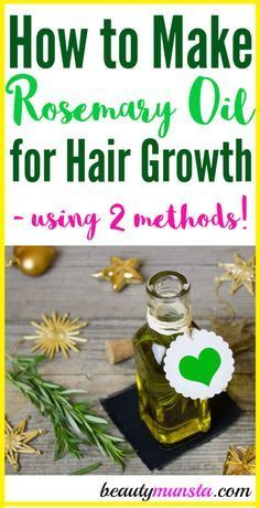 keyword[1]} and Learn how to make rosemary oil for hair growth in two ways!