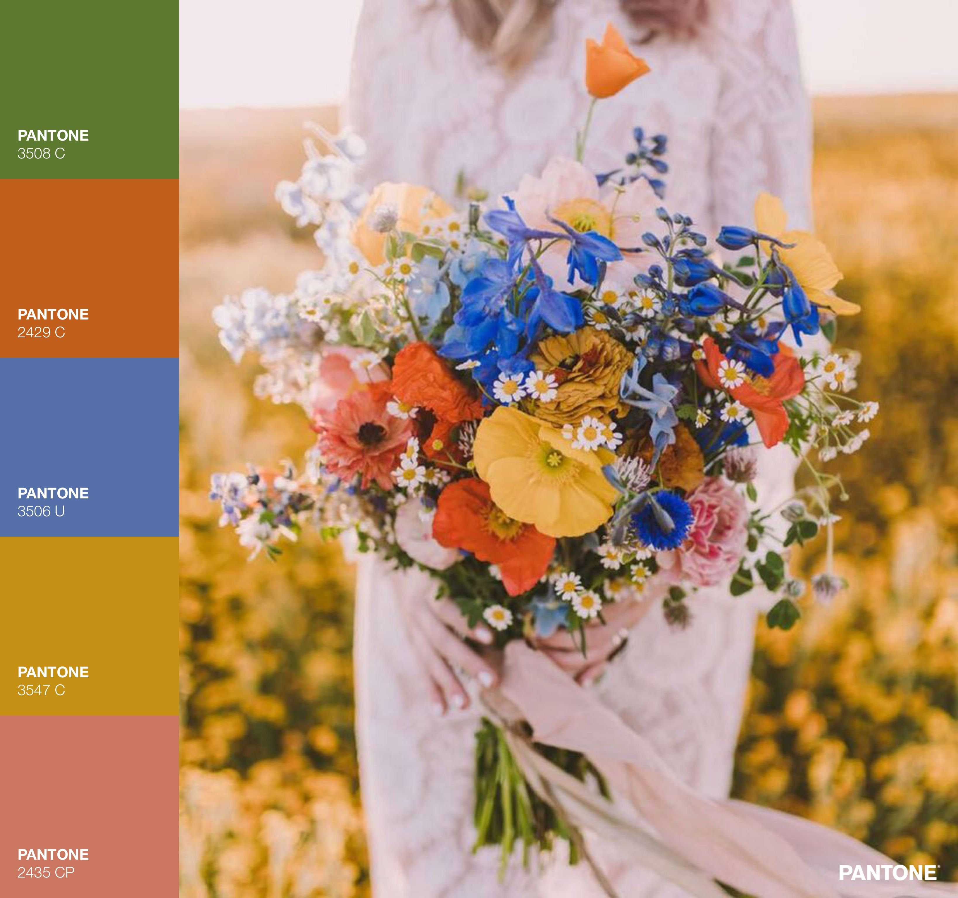 Late summer early fall 70s inspired color palette ...