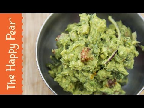 How to make Guacamole - The Happy Pear Recipe - YouTube