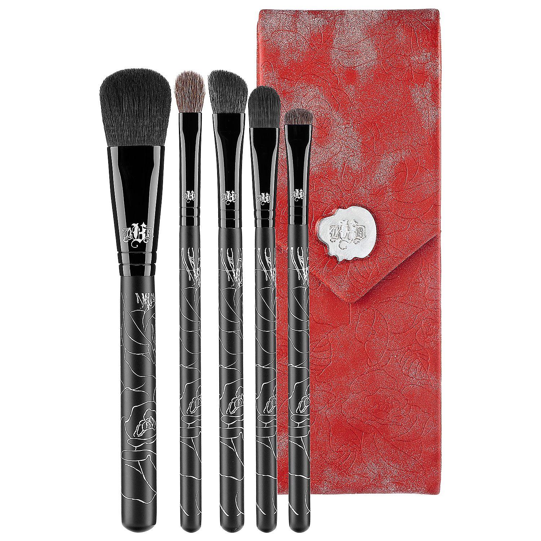 5 Piece Brush Set With Case Kat Von D Sephora Eye