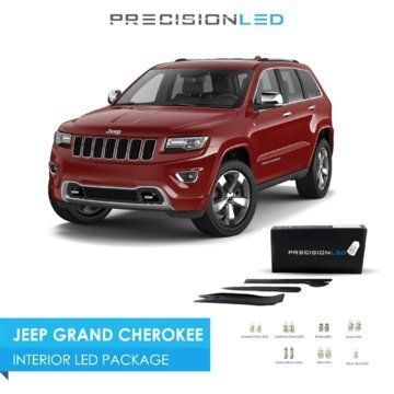 Precisionled 2011 2016 Jeep Grand Cherokee Led Interior Lighting