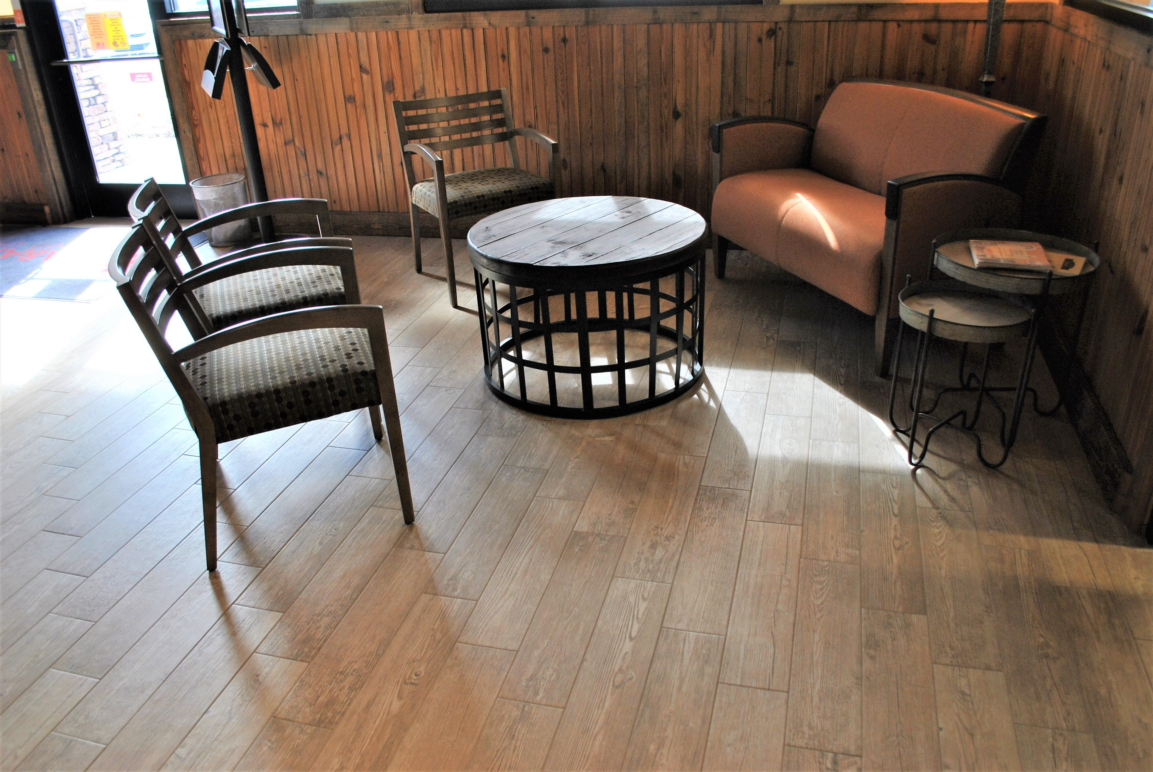 Our team offers wood flooring installations for your
