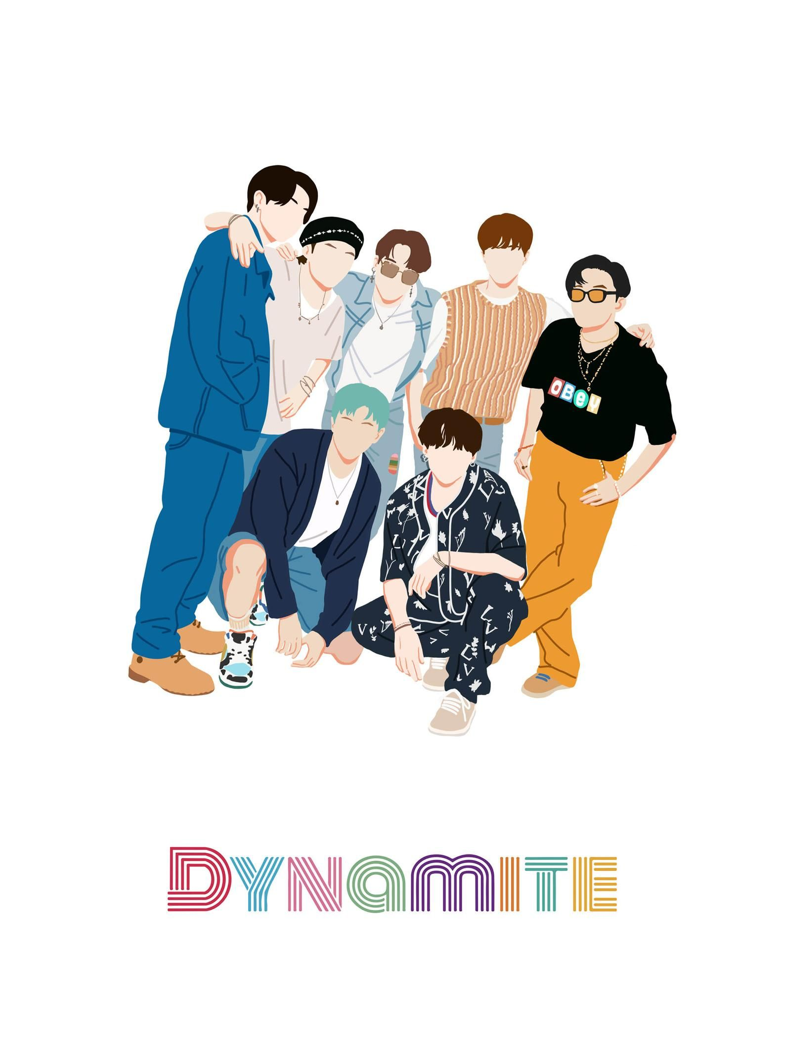 Link Tema Line Bts : Dynamite, Poster, Printable, Sticker, Drawings,, Stickers,, Posters